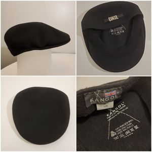 Kangol 100% Wool Hat Made in the UK